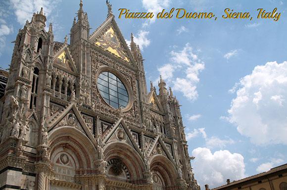 Duomo at Siena, Toscany, Italy