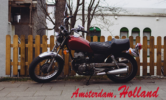 Motobike- at Amsterdam, Holland