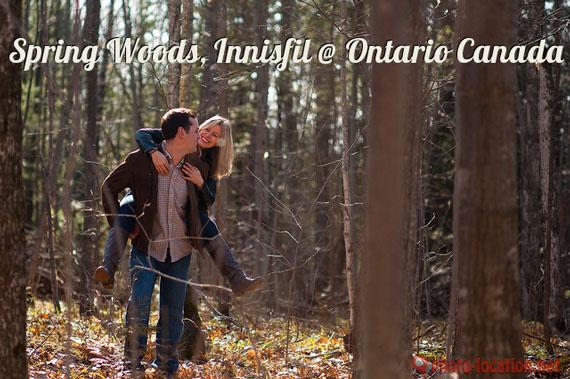 Spring Woods, Innisfil at Ontario, Canada